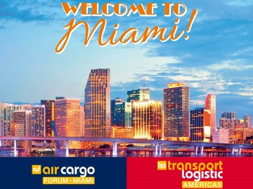 air cargo forum Miami und transport logistic Americas 2020 abgesagt.